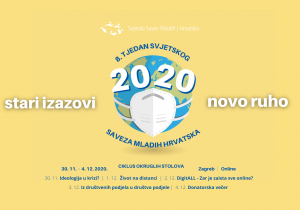 Najavljujemo 8. Tjedan Svjetskog Saveza Mladih Hrvatska