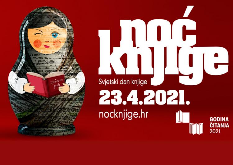 U petak jubilarna Noć knjige s više od 1100 programa i akcija diljem Hrvatske