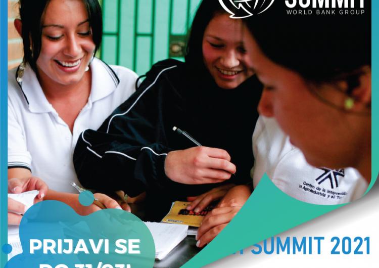 World Bank Group Youth Summit 2021. – Učinkoviti oporavak čovječanstva i planete