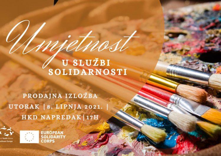 Najavljujemo: Humanitarna prodajna izložba – 'Umjetnost u službi solidarnosti'