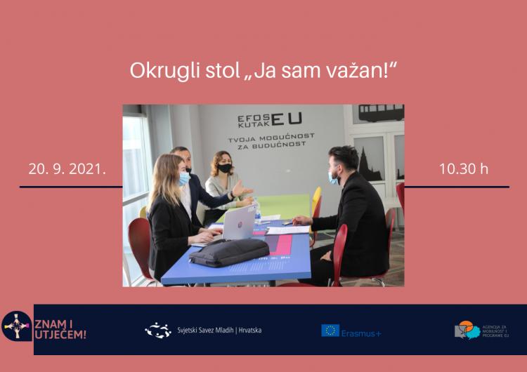 Ja sam važan! – Okrugli stol u Osijeku
